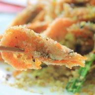 燕麦避风塘加拿大北极虾