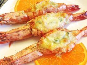 奶酪培根蒜香焗虾