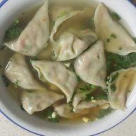 虾仁鸡蛋水饺