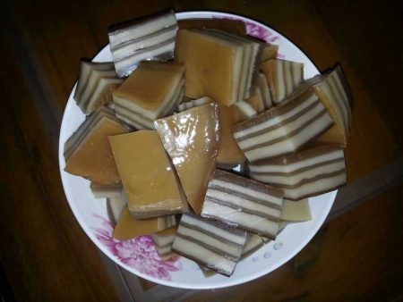 冰山上的雪莲参考菜谱 马蹄椰汁糕 做出的作品