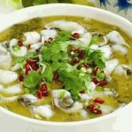 酸菜鱼+白贝   增加鲜味