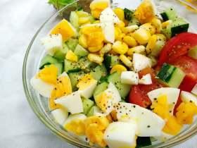 蔬果沙拉 #健康美颜餐#