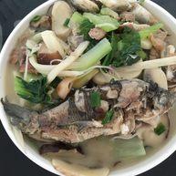 野生鯽魚面#健康美顏餐#