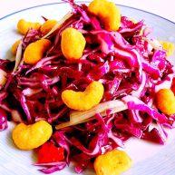 橄榄油拌紫甘蓝#健康美颜餐#