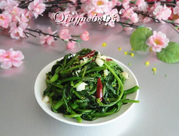 清炒小菜芯#健康美颜餐#