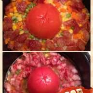 黑暗料理之整个番茄饭集锦