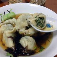 海螺荠菜饺