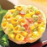 鲜玉米鸡蛋饼