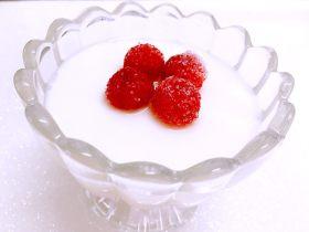 樹莓椰奶凍