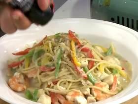 牛肝菌海鮮義大利麵
