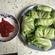 牛肉生菜卷