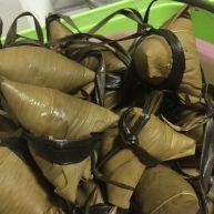 排骨蛏干粽