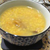 玉米糁南瓜粥
