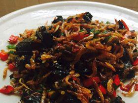 紫苏小河虾