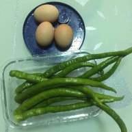 青红尖椒滑鸡蛋