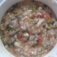乌鱼番茄菜粥