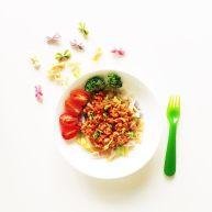 宝宝营养餐(1岁+)-番茄蔬菜肉酱蝴蝶面