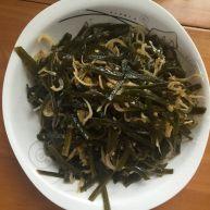 丁香鱼炒海带丝