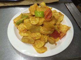 鮮魚籽薯片