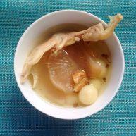 苦藠鸭掌汤