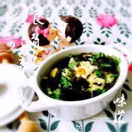 螺旋藻、海米、鸡蛋汤#挑战鸡蛋的100种做法#
