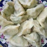 葫芦瓜猪肉,金钩海米馅饺子