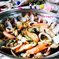 西班牙海鲜饭#有个故事#