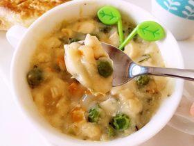 鸡肉浓汤—好浓的一碗鸡汤