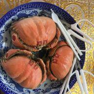 黄酒焖面包蟹