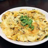 薄壳米煎鸡蛋