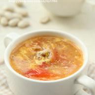 番茄里脊香菇羹