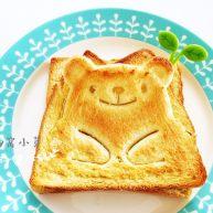 小熊牛油果三明治