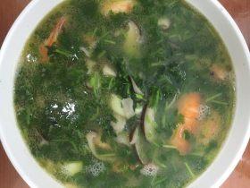 鲜虾玉子汤