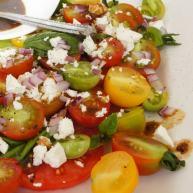 番茄沙拉——Mixed Tomato salad