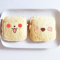 牛油果香蕉口袋面包—易携带宝宝三明治,牛油果和香蕉很搭哦......