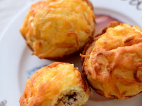 #夏天的味道#奶酪控一定要做的面包——蔓越莓奶酪包