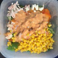 鸡丝蔬菜沙拉