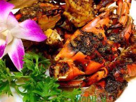 韩优空气炸锅---精致黑椒青蟹