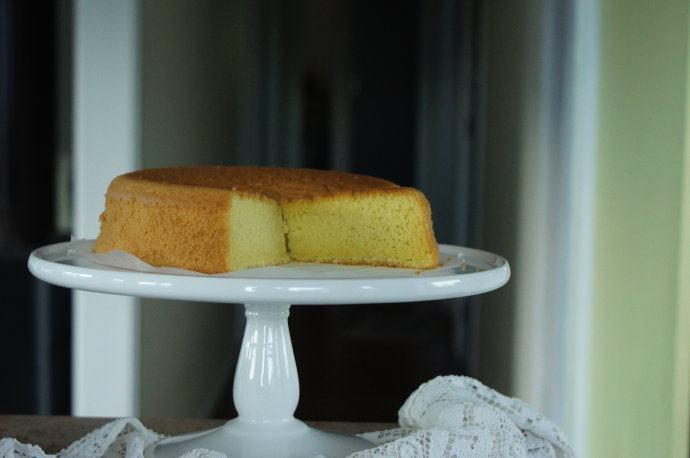 高筋面粉也可以做出柔软海绵蛋糕