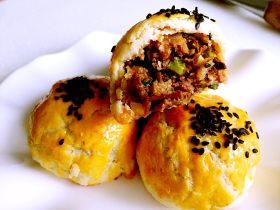 苏式梅干菜鲜肉月饼