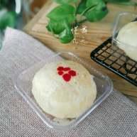 核桃仁玫瑰酥饼