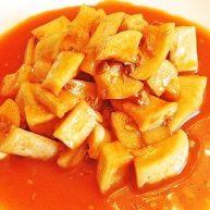 韩国辣酱腌白萝卜