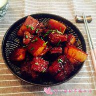 养秋膘-红烧元宝肉