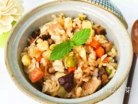 宝宝辅食:香菇土豆焖肉饭
