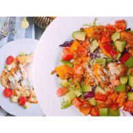 烤南瓜🎃沙拉