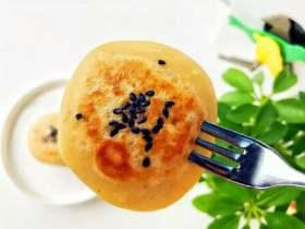 宝宝辅食:苹果栗子饼