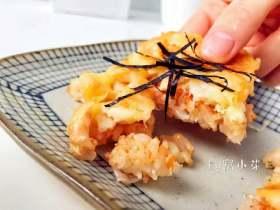 宝宝辅食:三文鱼鸡肉米披萨