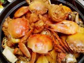 馋嘴蟹肉煲