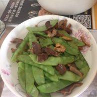 荷兰豆炒鸡肾