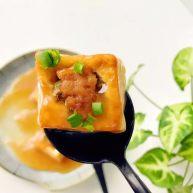 宝宝辅食:豆腐箱(肉末酿豆腐)